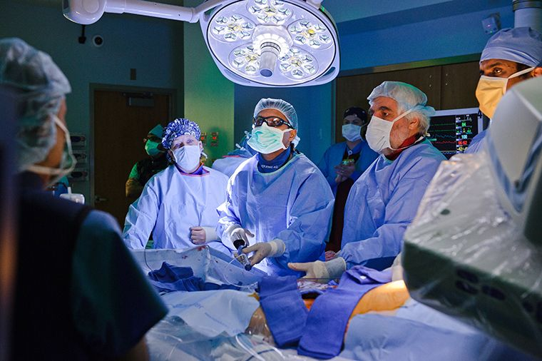 Heart Double Valve Replacement